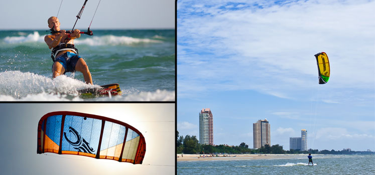 Hua-Hin-Thai-kite-surfing